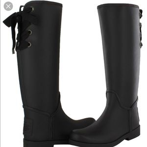 "EUC. ""Tristee"" Rainboot By Coach"